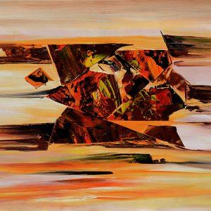 Dessert Dreamer-modern-abstract-painting-original