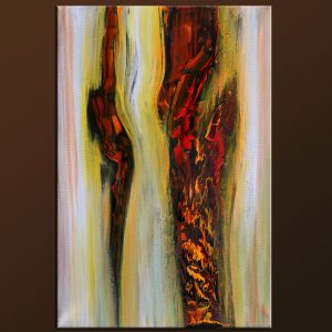 Raw - abstract painting