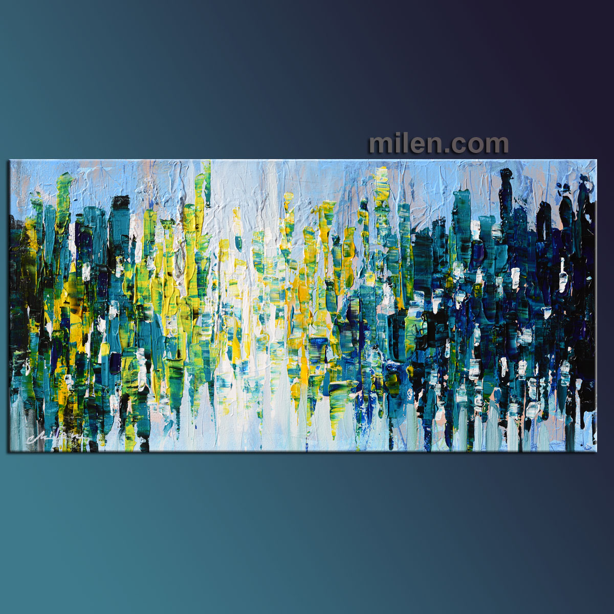 enlightenment  u2013 abstract city  u2013 abstract paintings  amazing original abstract cityscapes by milen