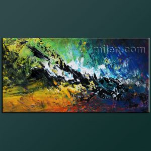 Deep Impact - original abstract painting