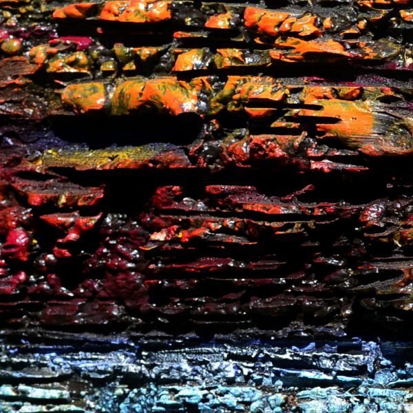 Restless Earth abstract heavy textured