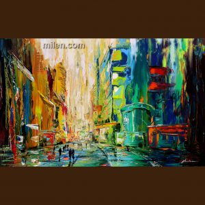 City Walls - cityscape painting