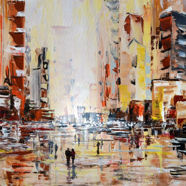Afternoon Drizzle - cityscape