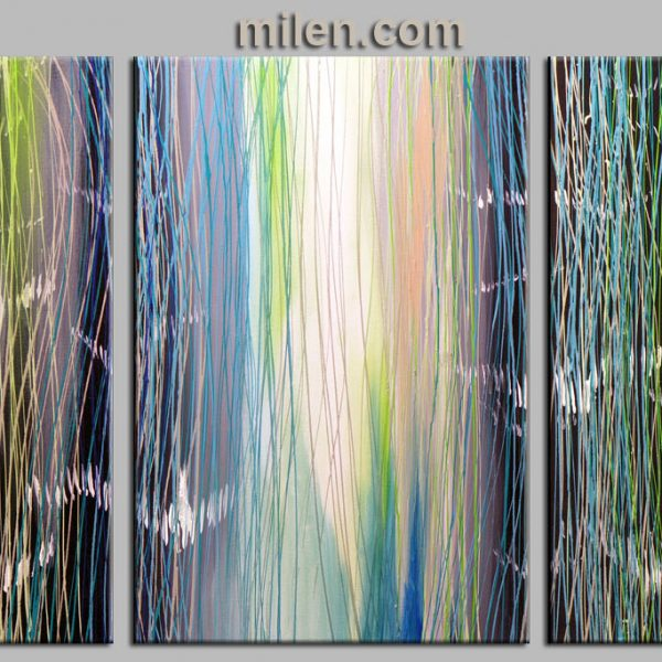 abstract waterwall - painting