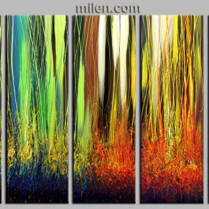 Season of Blossom abstract painting