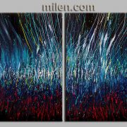 Set Fire To The Rain two – abstract painting