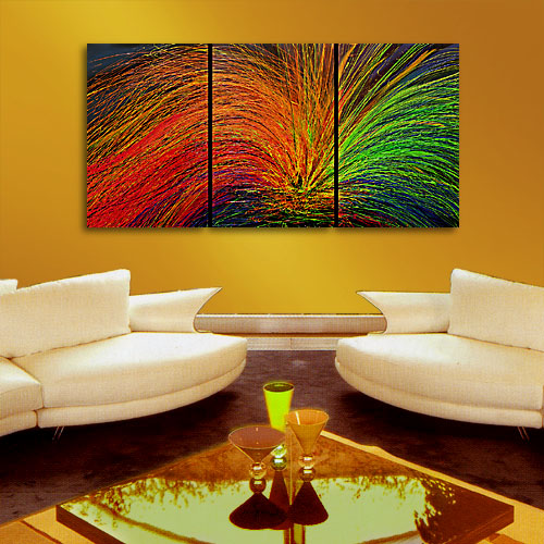 Harmony - abstract painting dripping paint texture abstract artwork red painting modern art original amazing painting