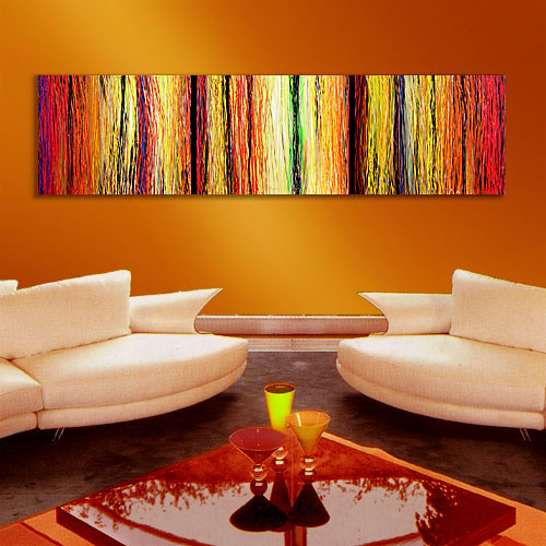 Rays of Sunshine - abstract painting dripping paint texture abstract artwork painting modern art original paintings