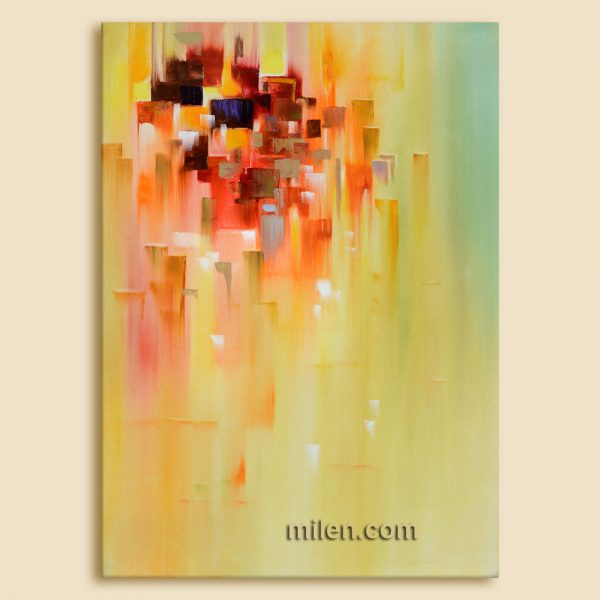 Abstract city - artwork paint abstract skyline abstract cityscape painting