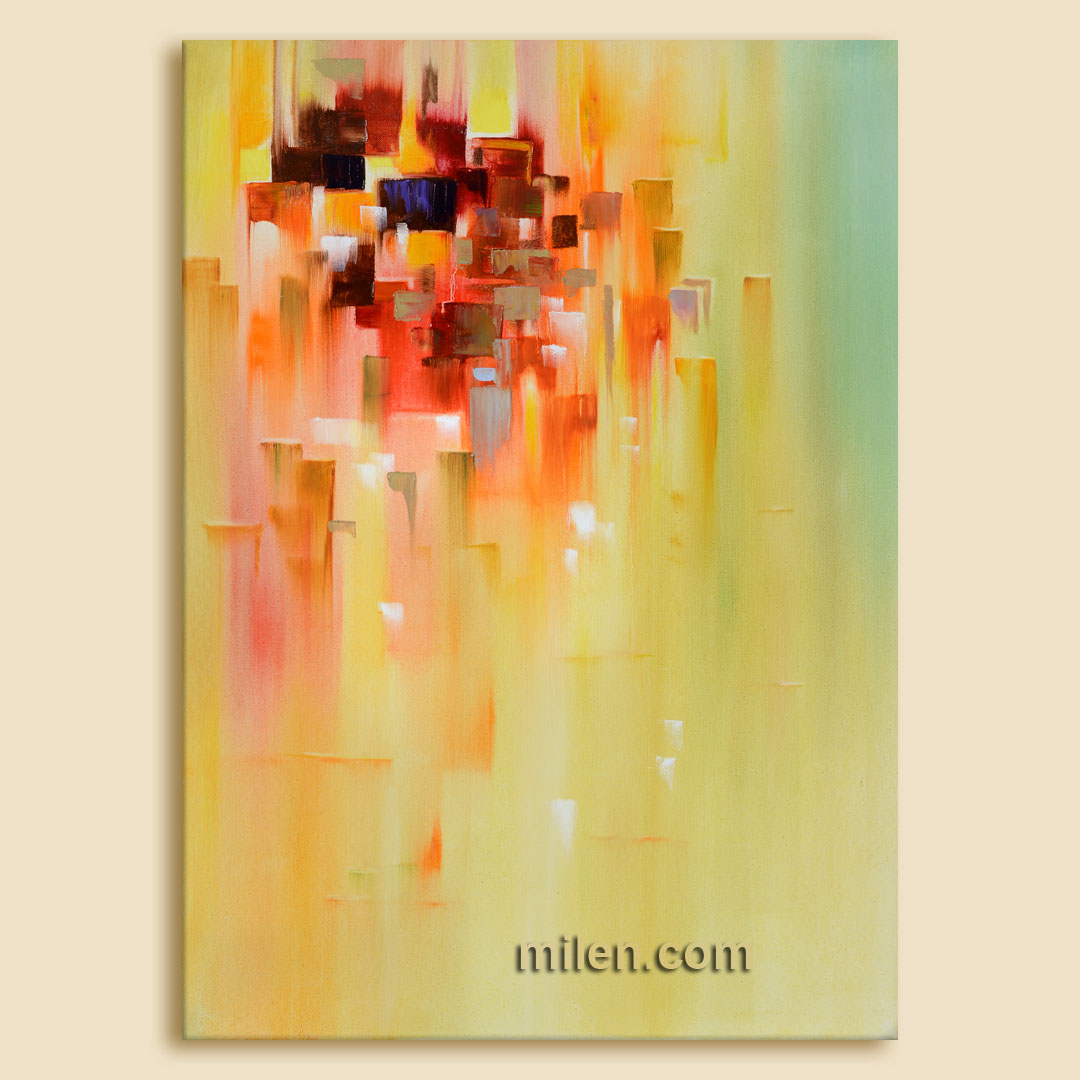 abstract city abstract cityscape painting abstract paintings