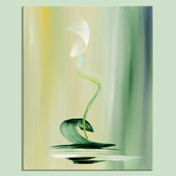 green dream abstract paintings abstract artwork