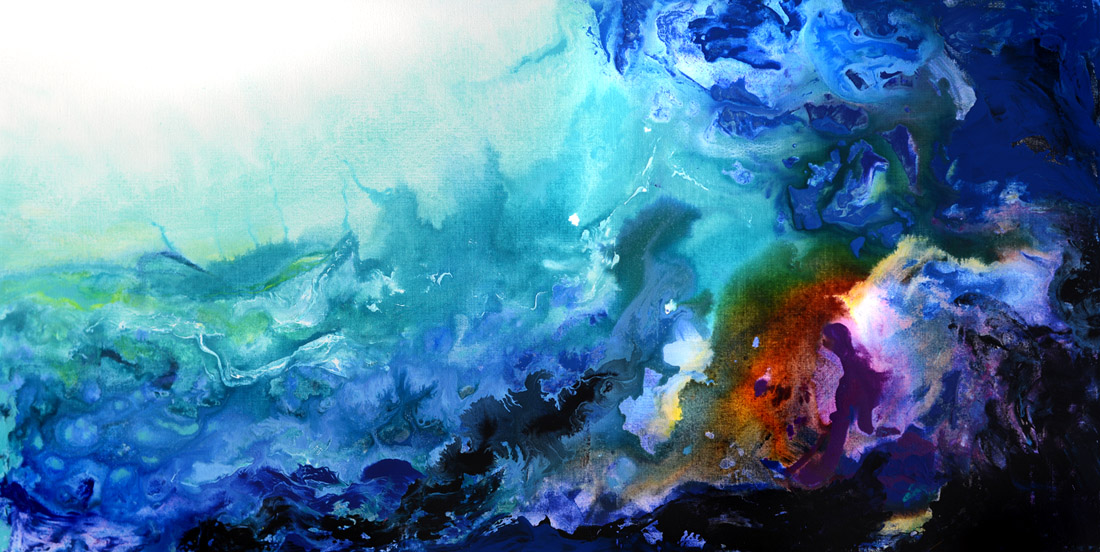The Reef Abstract Painting Abstract Paintings Amazing