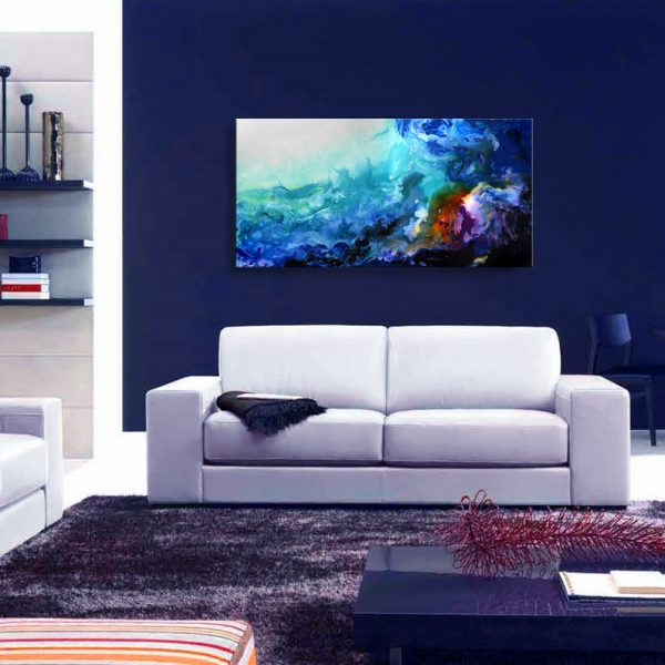 abstract reef abstract clear water abstract island abstract painting abstract artwork