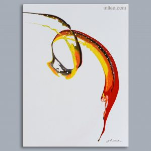 motion abstract painting pouring art